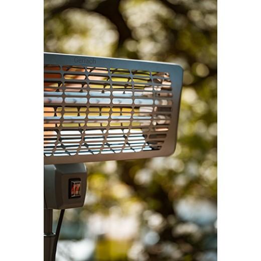 Incalzitor exterior de terasa electric Gerlach GL 7734, IP24, Inaltime ajustabila - HotPick
