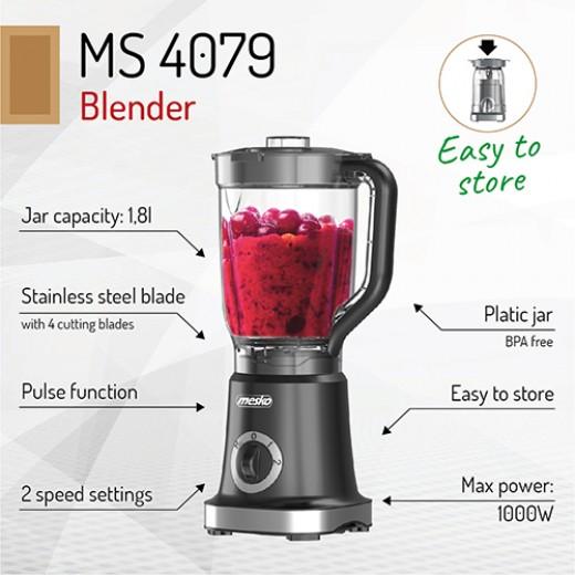 Blender Mesko MS 4079 b, 1000 W - HotPick