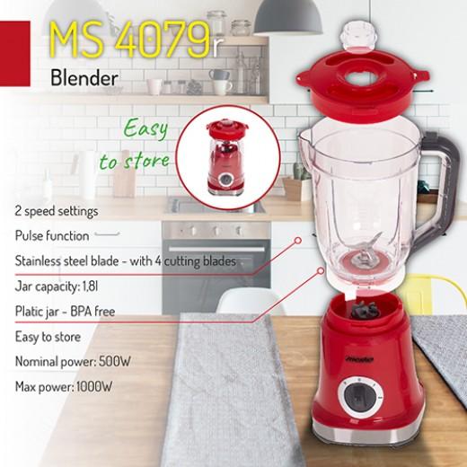 Blender Mesko MS 4079 r, 1000 W - HotPick