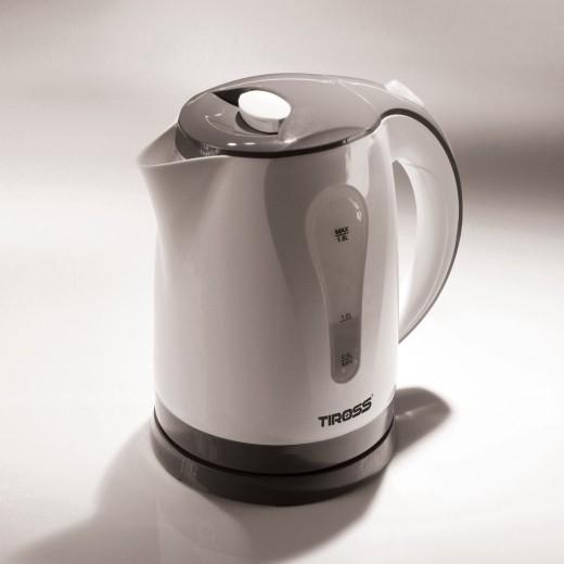 Fierbator apa TS-1355, 1,8 L, Gri - HotPick