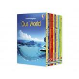 Beginners Boxset Our World Usborne -  Set 10 carti in limba engleza - HotPick