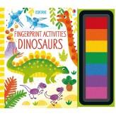 Fingerprint Activities Dinosaurs Usborne - HotPick