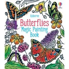 Butterflies Magic Painting Book Usborne