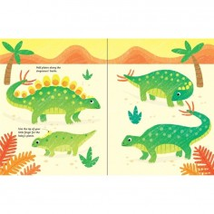 Fingerprint Activities Dinosaurs Usborne