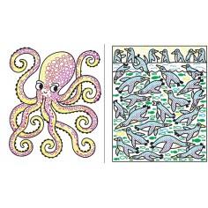Under the Sea Magic Painting Book Usborne