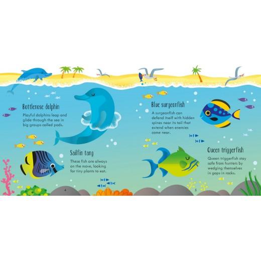 Joc educativ + carte Under the Sea Matching Games - HotPick