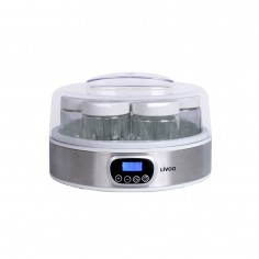 Aparat de preparat iaurt DOP216. 18 W, 7 borcanele de sticla × 170 ml,