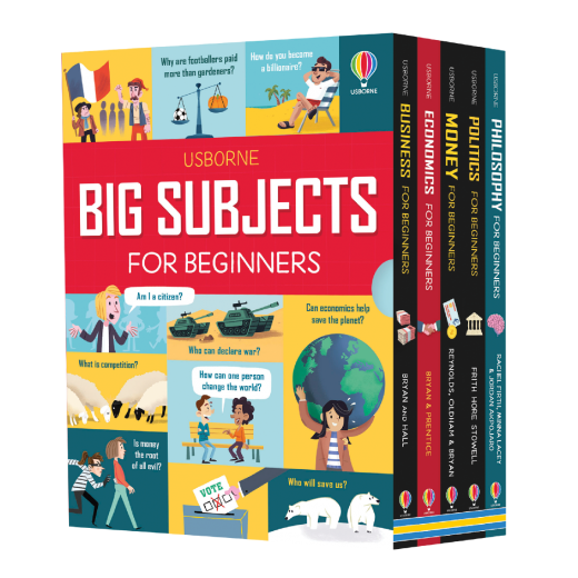 Big Subjects for Beginners - Set 5 carti in limba engleza - HotPick