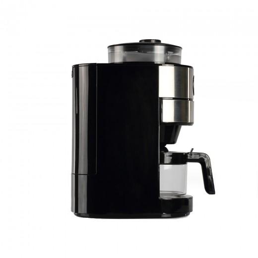 Cafetiera cu rasnita integrata Livoo DOD173, Filtru permanent - HotPick