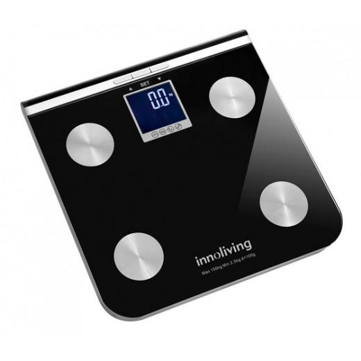 Cantar electronic cu analiza corporala INN-117, max-150KG cu ecran mare iluminat - HotPick