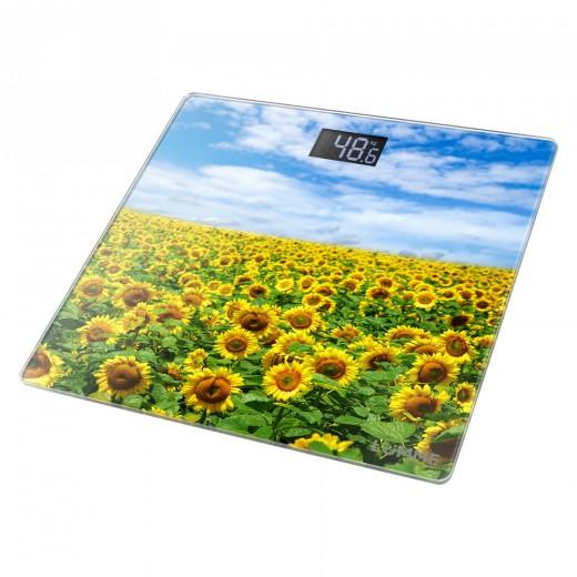 Cantar electronic de persoane LU-1328 Model Floarea Soarelui - HotPick