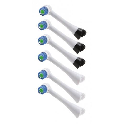 Capete de rezerva (6 bucati) pentru periuta de dinti reincarcabila Domo DO9233TB - HotPick