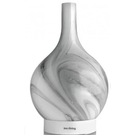 Difuzor de arome cu ultrasunete din sticla INN-773W, 150 ml - HotPick