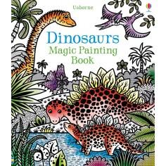Dinosaurs Magic Painting Book Usborne