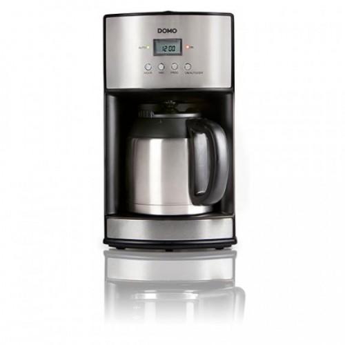 Filtru cafea ecran LCD si cana termos DO474K, 1,2 L, 1000 W