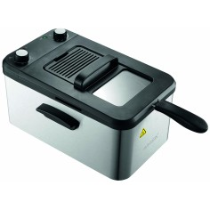 Friteuza carcasa otel inoxidabil DF 3001 SS, 3,2 L, 2200W