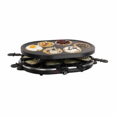 Gratar Raclette si aparat pentru mini-clatite 2 in 1 DomoClip DOC188