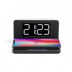 Incarcator wireless cu incarcare rapida si Ceas alarma cu lumina de noapte TEA263