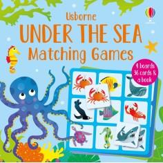 Joc educativ + carte Under the Sea Matching Games