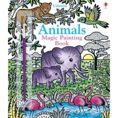 Animals Magic Painting Book Usborne