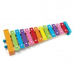 Metalofon De Jucarie Cu 12 Note Pentru Copii