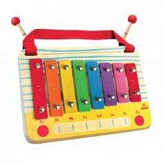 Metalofon De Jucarie Cu 8 Note Pentru Copii