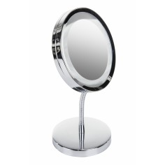 Oglinda cosmetica reglabila cu lupa si Iluminare cu LED Adler 2159