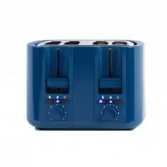 Prajitor de paine dublu DOD167B, 1500 W, Albastru