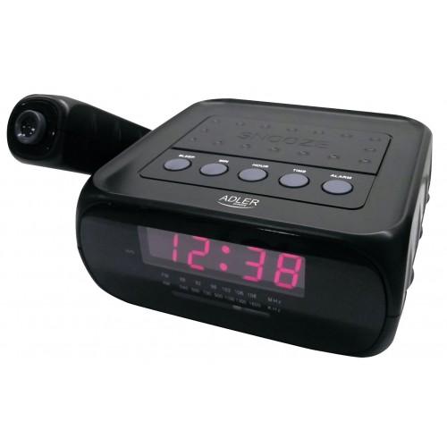 Radio cu ceas desteptator cu proiectie Adler AD 1120