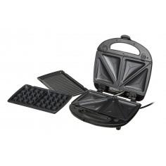 Sandwich maker 3 in 1 cu functie gratar si waffle Camry CR 3024