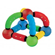 Set Inteligent de Constructie Magnetic cu 52 Piese Magnesticks
