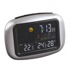 Statie meteo cu senzor wireless, ceas, alarma si termometru SL254