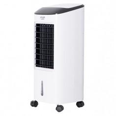 Racitor de aer portabil, multifunctional cu functie de umidificare, purificare si racire, putere 350 W, cu telecomanda, 3 moduri de ventilatie