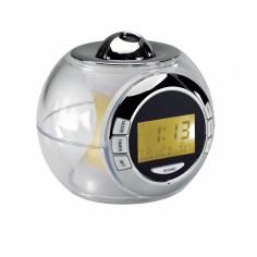 Ceas desteptator Clip Sonic RV141 cu proiectie ora