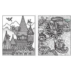 Fairy Palaces Magic Painting Book Usborne