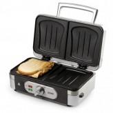 Aparat de sandwich 3 in 1 DO9136C cu placi interschimbabile, pentru pregatire sandwich, grill sau waffe, 1000 w - HotPick