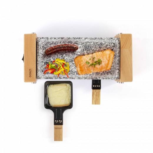 Gratar raclette Livoo DOC218, 2 persoane - HotPick