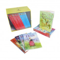 The Usborne Reading Collection - Set 40 carticele de povesti in limba engleza