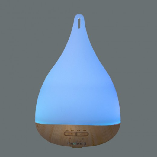 Difuzor de arome cu ultrasunete, lumini si timer INN-772, 250 ml - HotPick