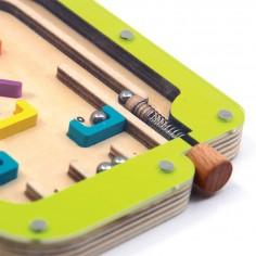 Joc interactiv de indemnare Pinball din lemn