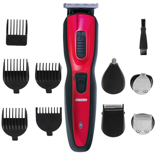 Set Trimmer Multifunctional  5 in 1, Tuns Facial Si Corporal, Cu Diverse Accesorii - HotPick