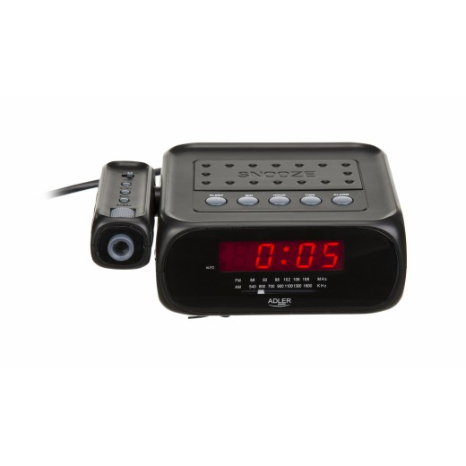 Radio cu ceas desteptator cu proiectie Adler AD 1120 - HotPick
