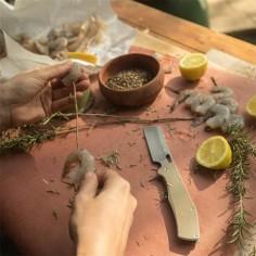 Cutit pliabil Gerber Flatiron, Otel/Compozit, Galben nisip