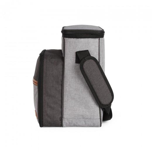 Rucsac pentru picnic echipat SEP128, 4 persoane , izolat, 24 accesorii - HotPick