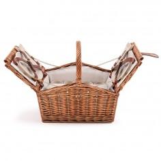 Cos picnic 4 persoane SEP131 echipat, 40 x 30 x 24 cm