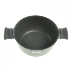 Oala invelis de marmura cu capac TS-1291, 24 cm, 4 L