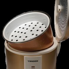 Oala pentru gatit orez TS-998, 700 W, 1.8 L