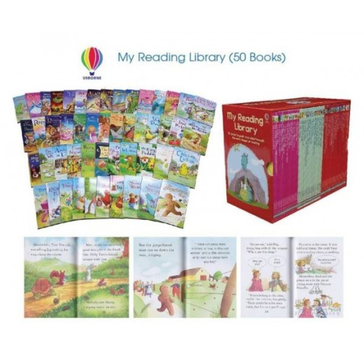 My Reading Library -  Set 50 carticele de povesti in limba engleza - HotPick
